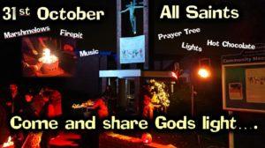 31st October - Firepit & Lights