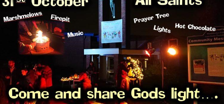 31st October – Firepit & Lights