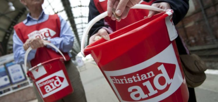 Christian Aid Street Collection