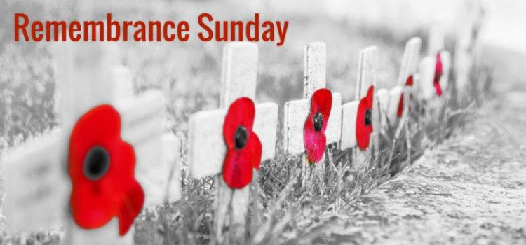 Remembrance Sunday – 10am service