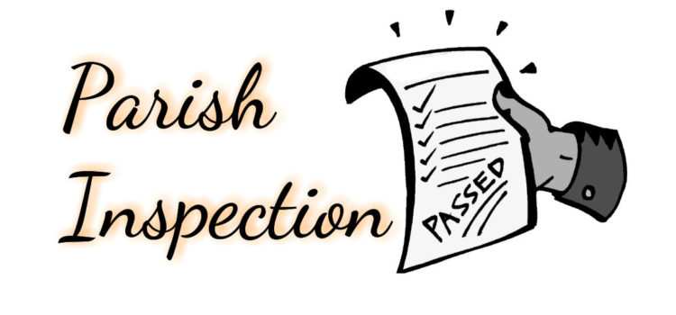 Parish inspection – Tuesday 26th November