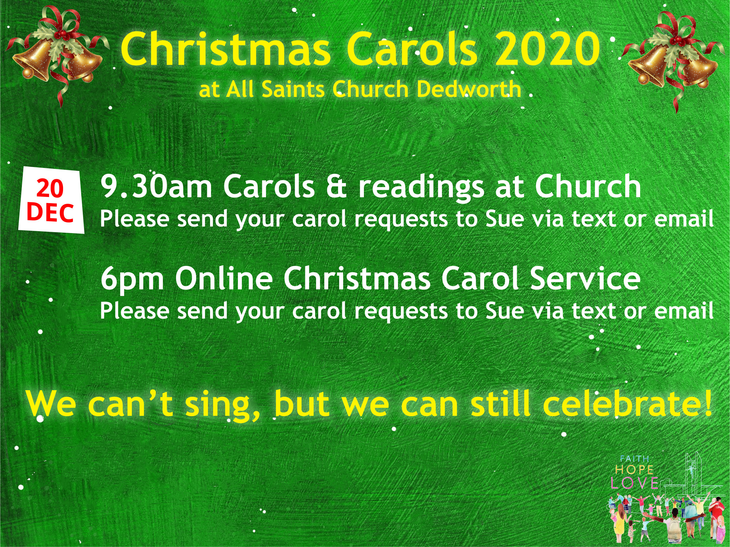 Christmas Carols 2020 - NOW CANCELLED