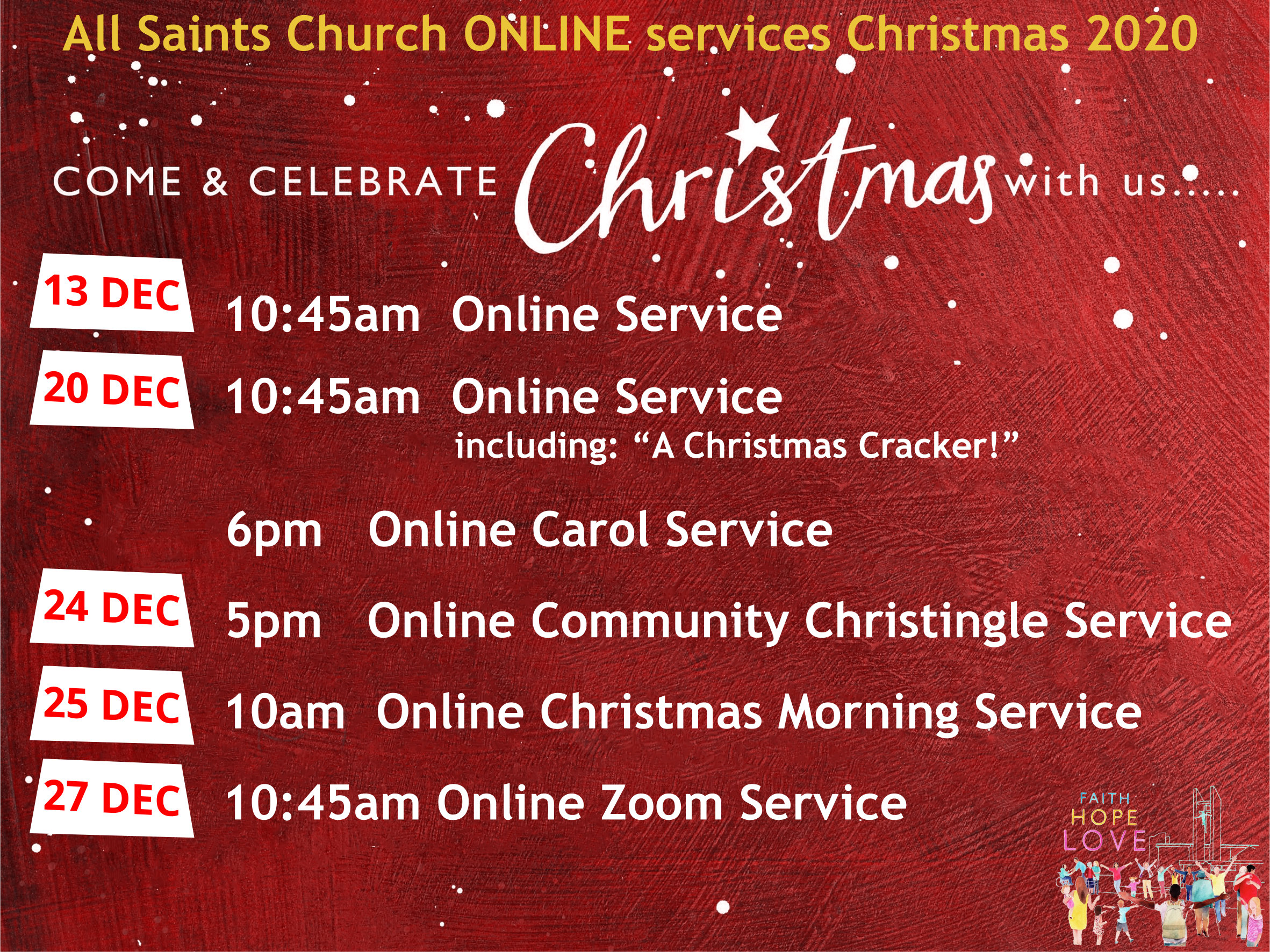 Online Services this Christmas